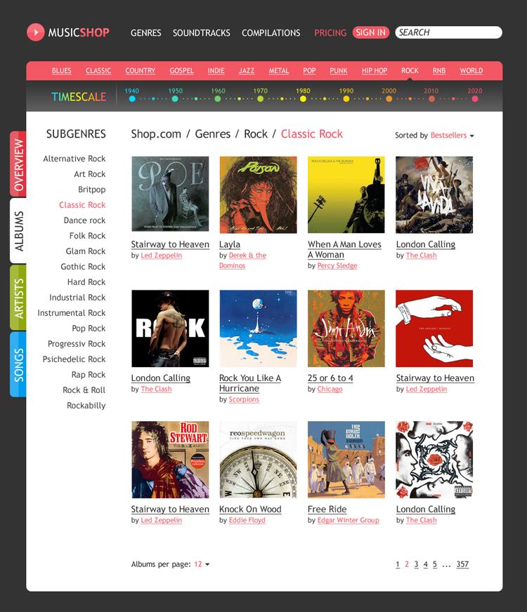 Редизайн каталога онлайн-магазина