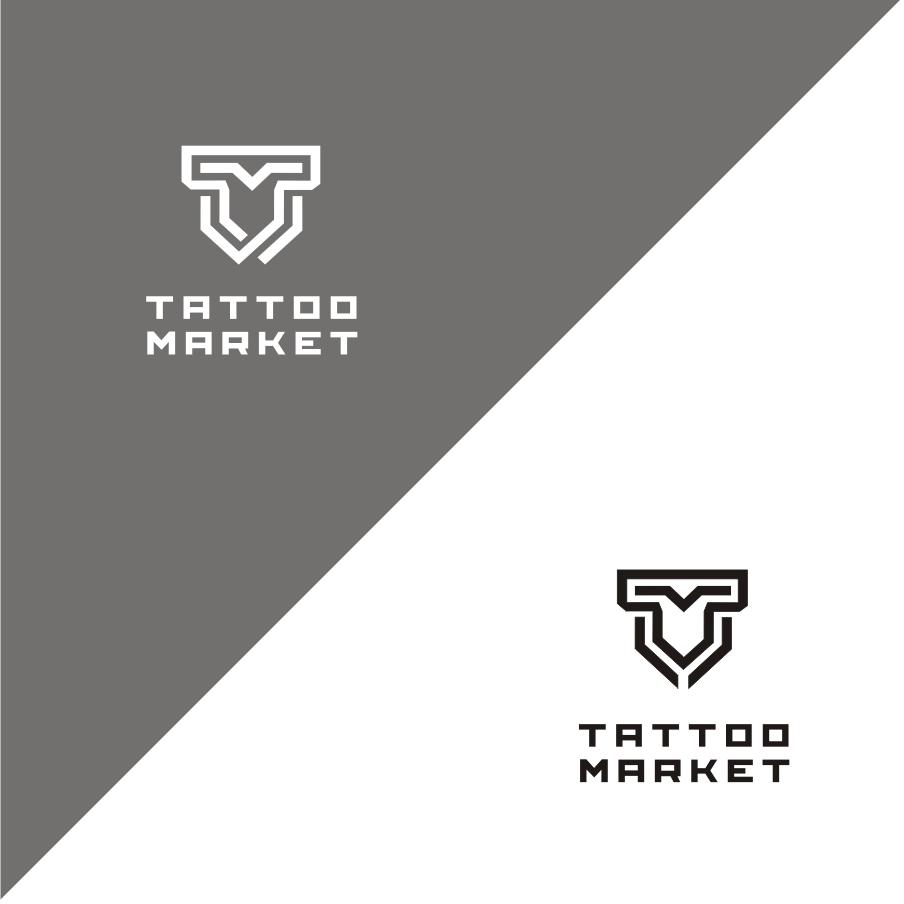 Редизайн логотипа магазина тату оборудования TattooMarket.ru фото f_0165c3f7fd2e8dee.jpg