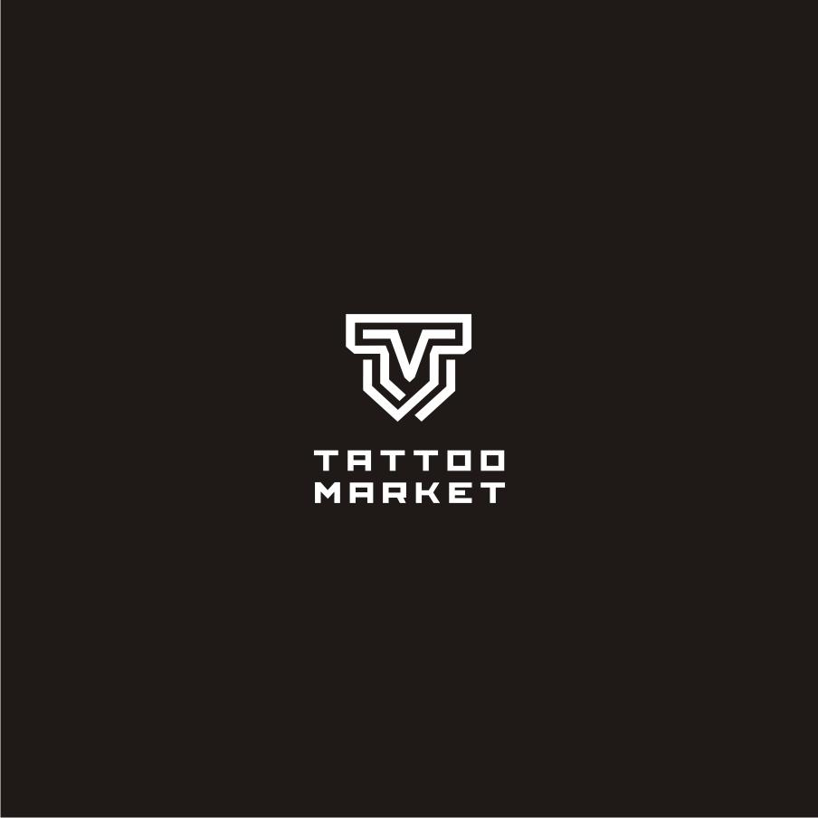 Редизайн логотипа магазина тату оборудования TattooMarket.ru фото f_3305c3f7fcef4159.jpg