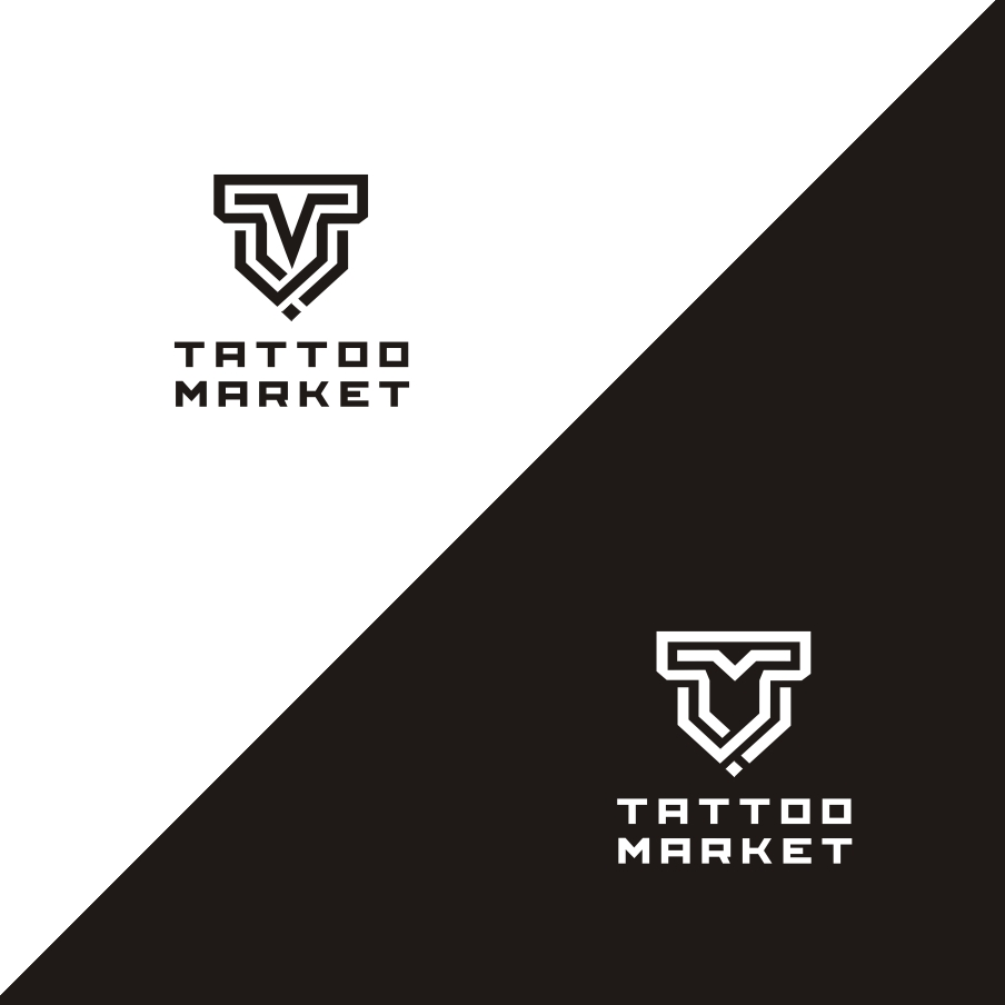 Редизайн логотипа магазина тату оборудования TattooMarket.ru фото f_7895c3f7fd725048.jpg