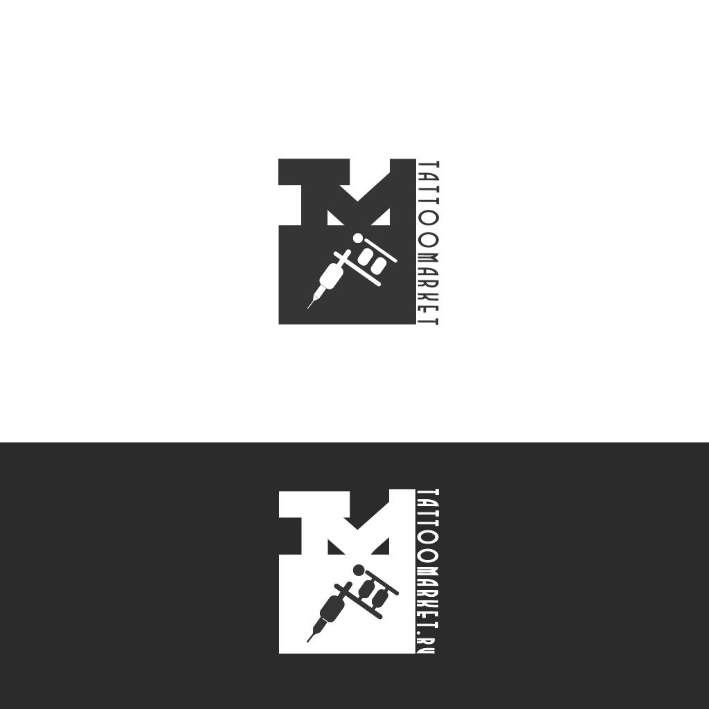 Редизайн логотипа магазина тату оборудования TattooMarket.ru фото f_9625c3a42777e453.jpg