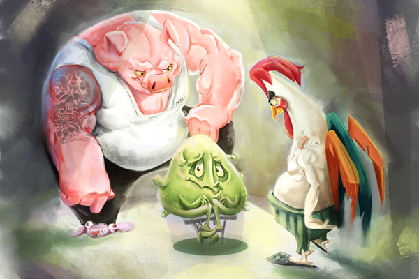 Персонаж для 2D мобильной игры фото f_4145f572d5ddb327.png