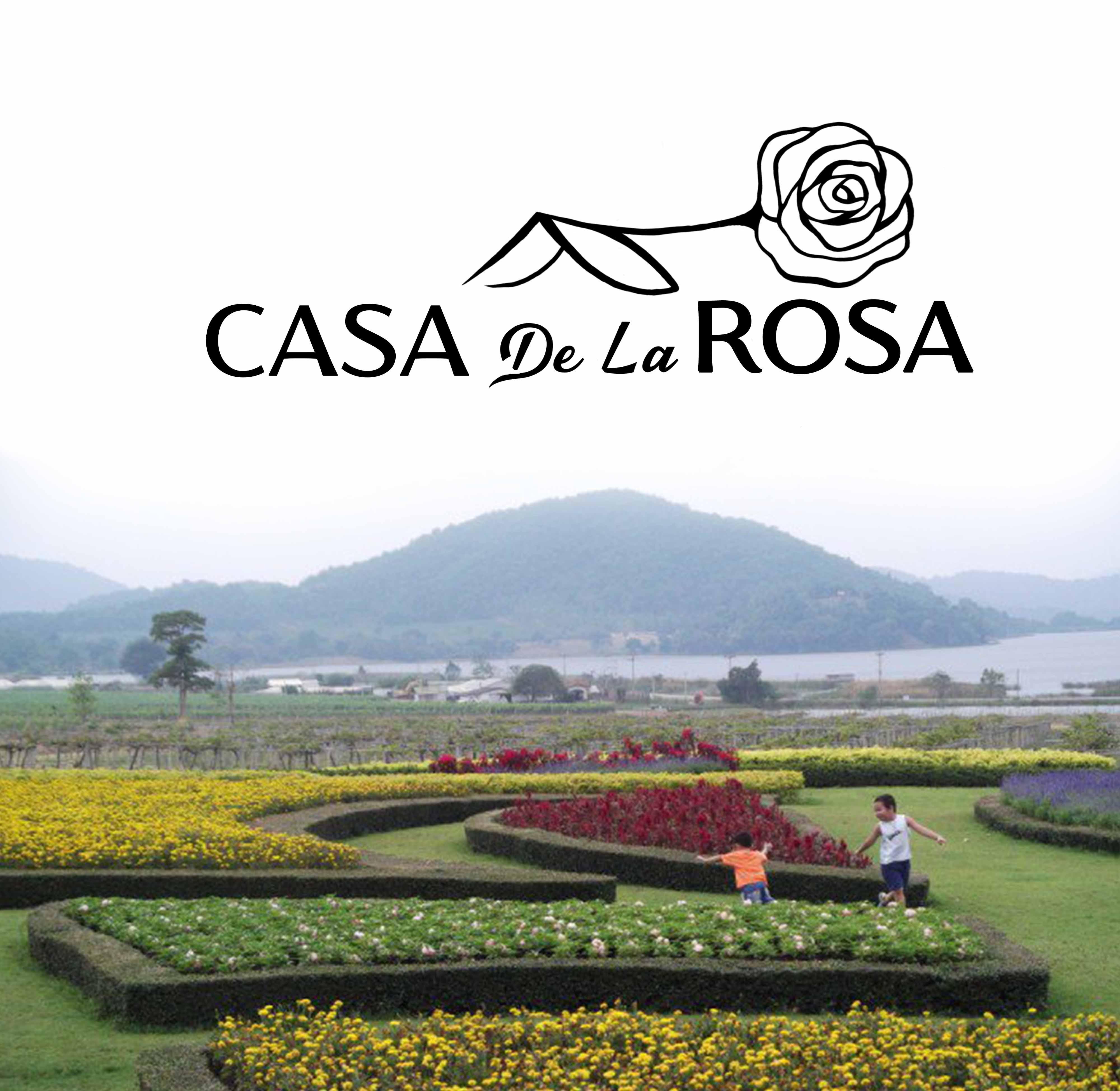 Логотип + Фирменный знак для элитного поселка Casa De La Rosa фото f_0715cd36d125b05e.jpg