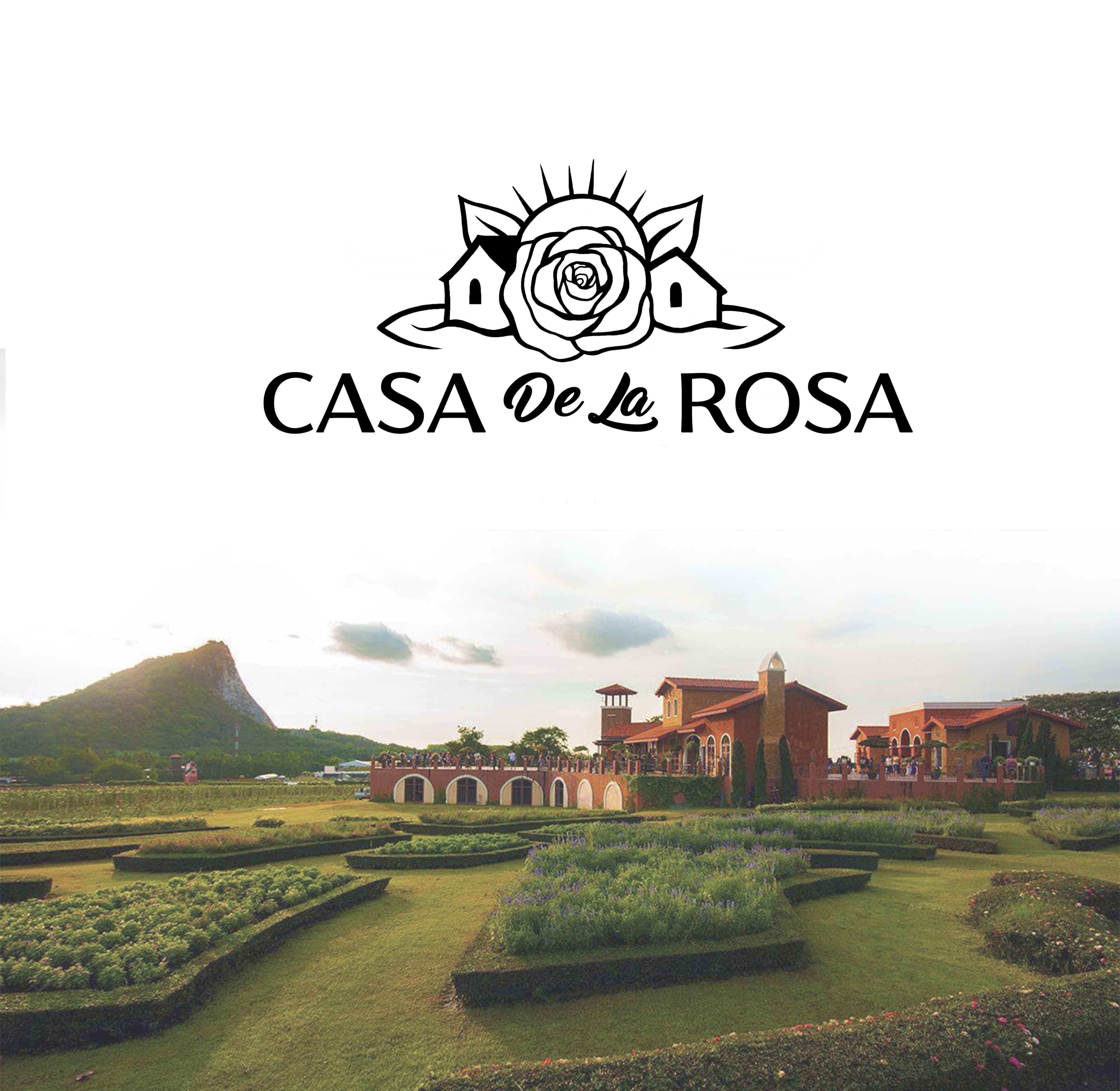 Логотип + Фирменный знак для элитного поселка Casa De La Rosa фото f_6865cd363e5a62b9.jpg