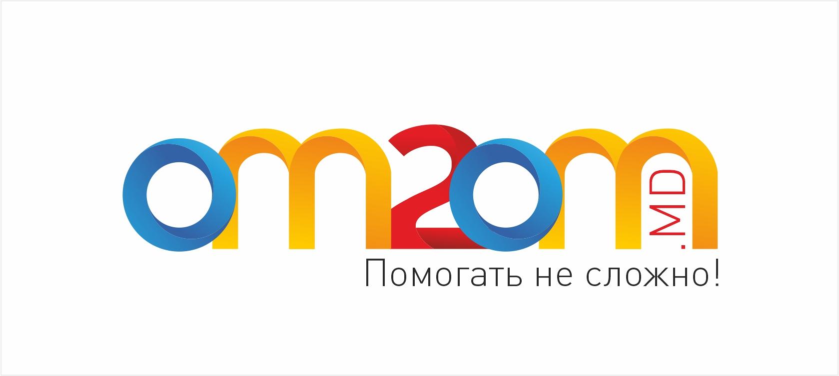 Разработка логотипа для краудфандинговой платформы om2om.md фото f_7935f5d5d0d3b0ff.jpg