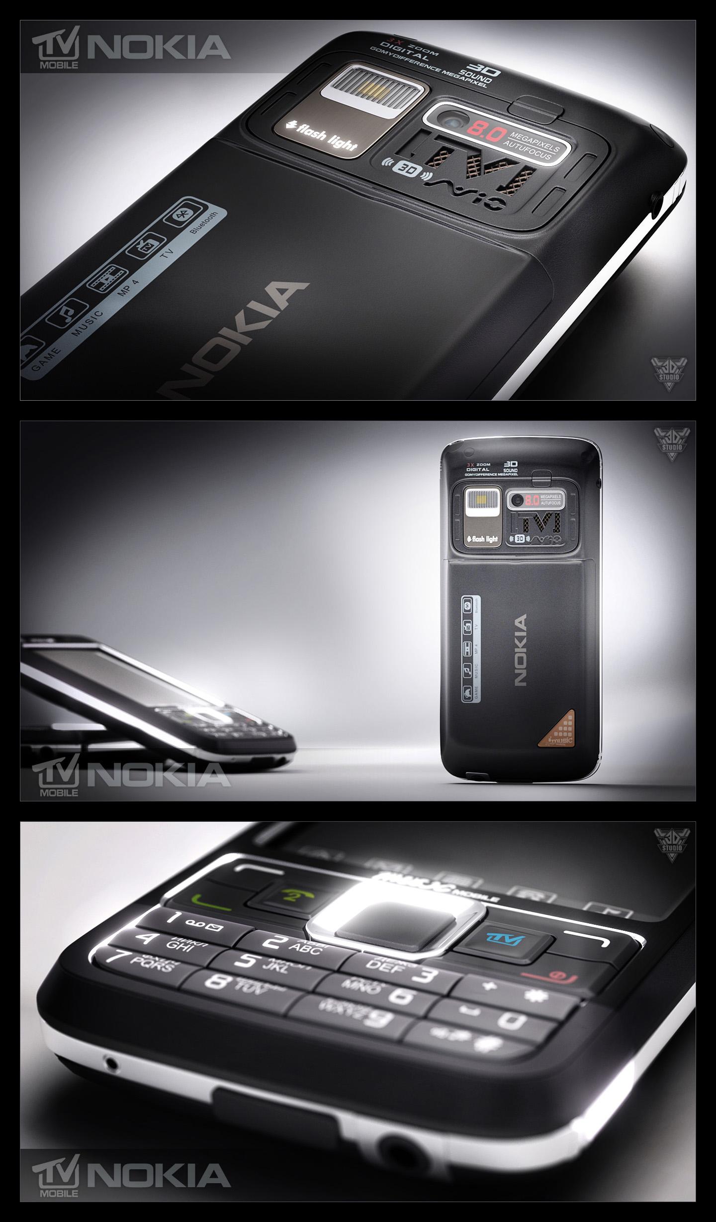 Nokia TV-mobile (3D+flash)