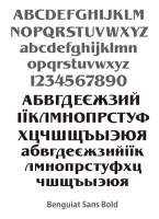Benquiat Sans Bold