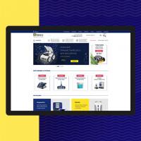 """Создание сайта для официального дилера оборудования """"ZODIAC"""""""