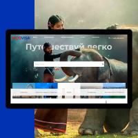"""Разработка сайта """"Мосвиза"""""""