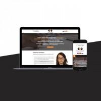 Разработка сайта для переводчицы - Марии Ткаченко