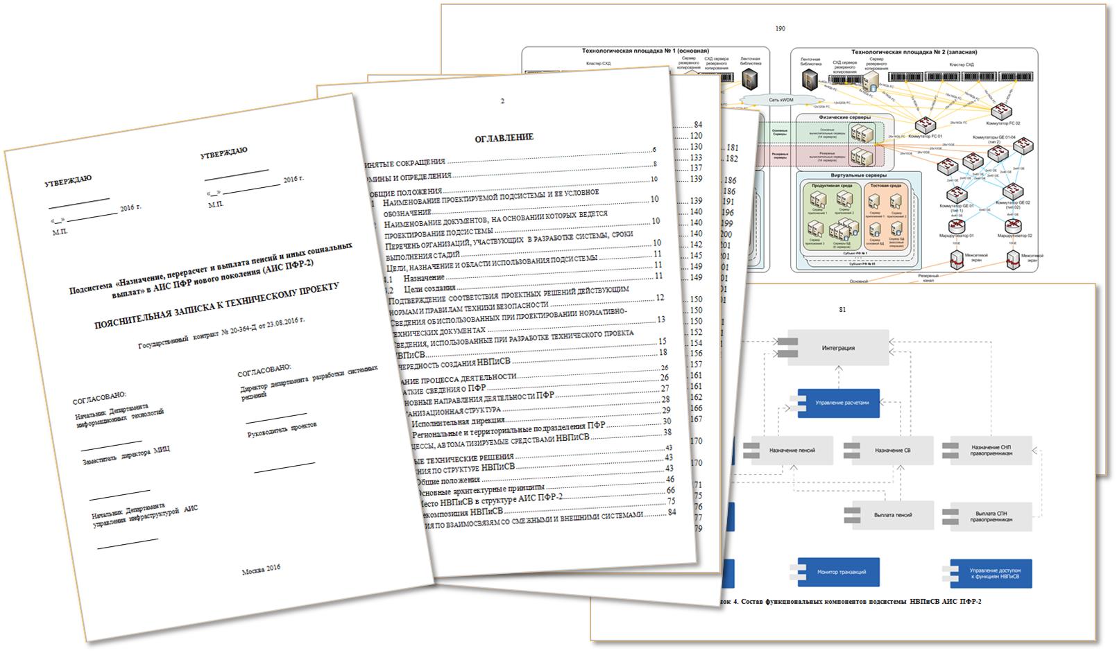 Документация технического проекта по созданию НВПиСВ АИС ПФР-2