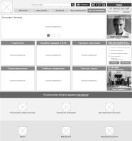 ТЗ + прототипы (Axure) для сайта