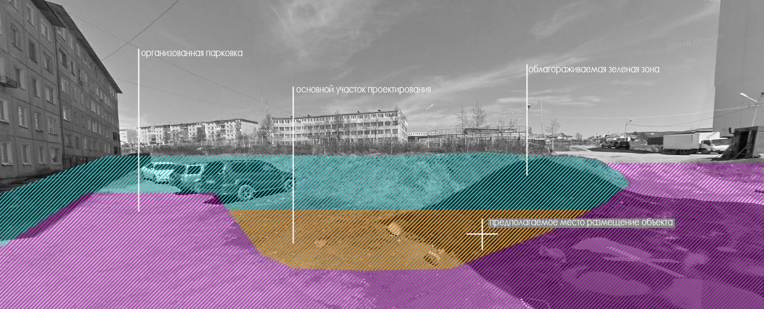 Проект по благоустройству  участка дворовой территории фото f_8735bc5080cc0517.jpg