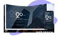 Дизайн сайта инвестиций