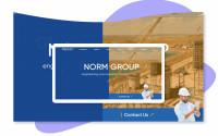Адаптивная верстка и интеграция строительного сайта на CMS Wordpress