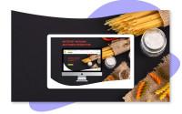 Дизайн интернет магазина доставки продуктов