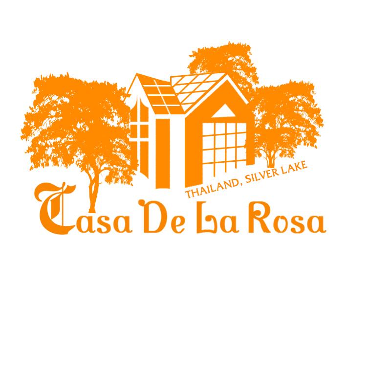 Логотип + Фирменный знак для элитного поселка Casa De La Rosa фото f_9735cd284cd37cd0.jpg