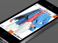 Дизайн мобильного приложения для ios (не более 10 экранов)