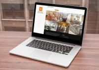 Сайт-портфолио дизайнера интерьеров