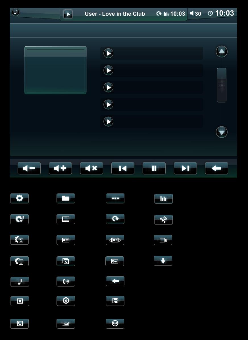 интерфейс и иконки