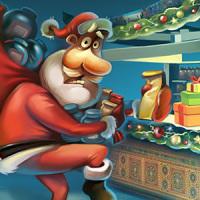 Дед Мороз и чай