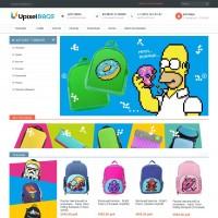 Интернет-магазин рюкзаков UpixelBags.ru