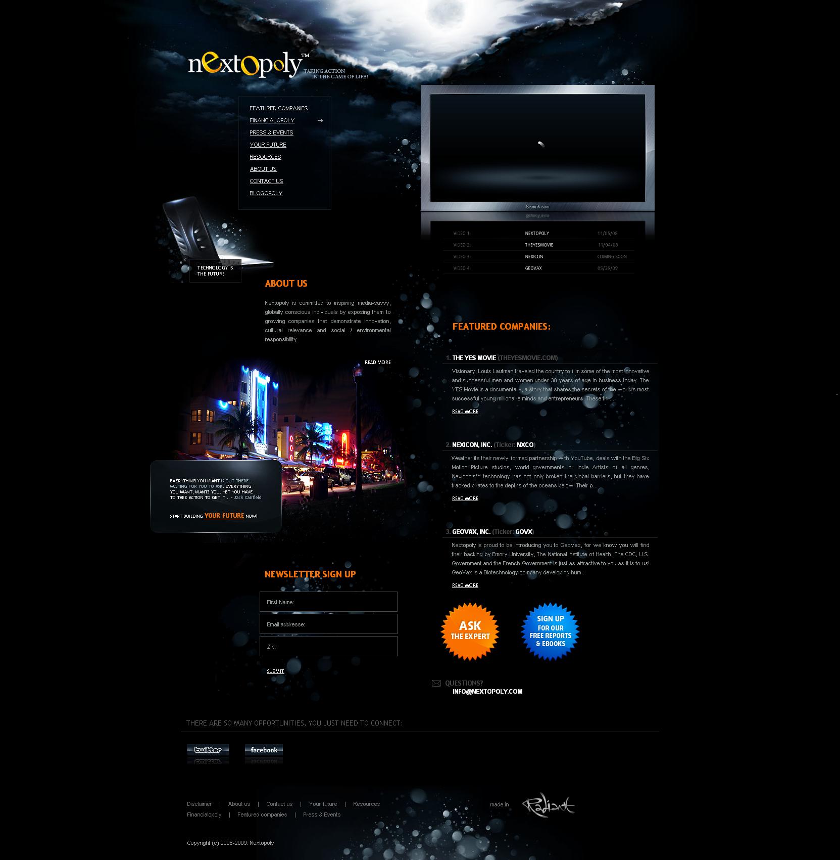 Nextopoly - WordPress