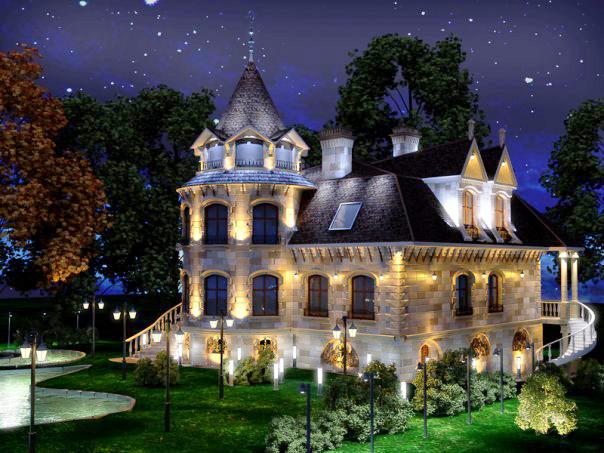 Подсветка домов (2007 год)