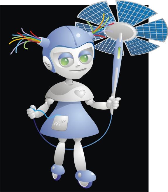 """Модель Робота - Ребёнка """"Роботёнок"""" фото f_4b48b0b934be1.jpg"""