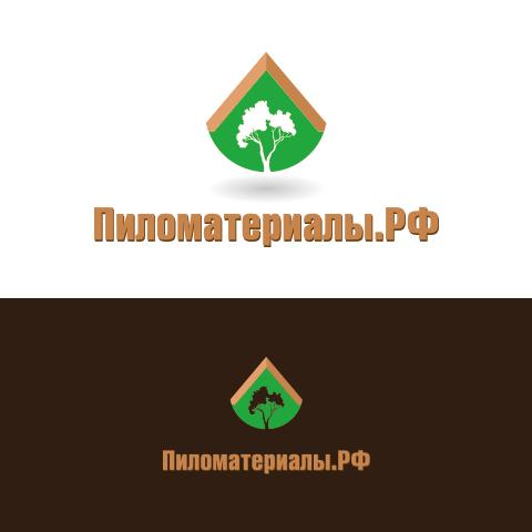 """Создание логотипа и фирменного стиля """"Пиломатериалы.РФ"""" фото f_54052f260bcc5df7.jpg"""