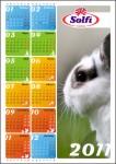 Календарь для крупной компании.