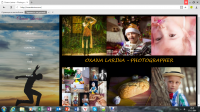 Сайт фотографа Оксаны Лариной