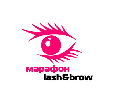"""Создание логотипа мероприятия """"Марафон Lash&Brow"""" фото f_92558f9196058d53.png"""