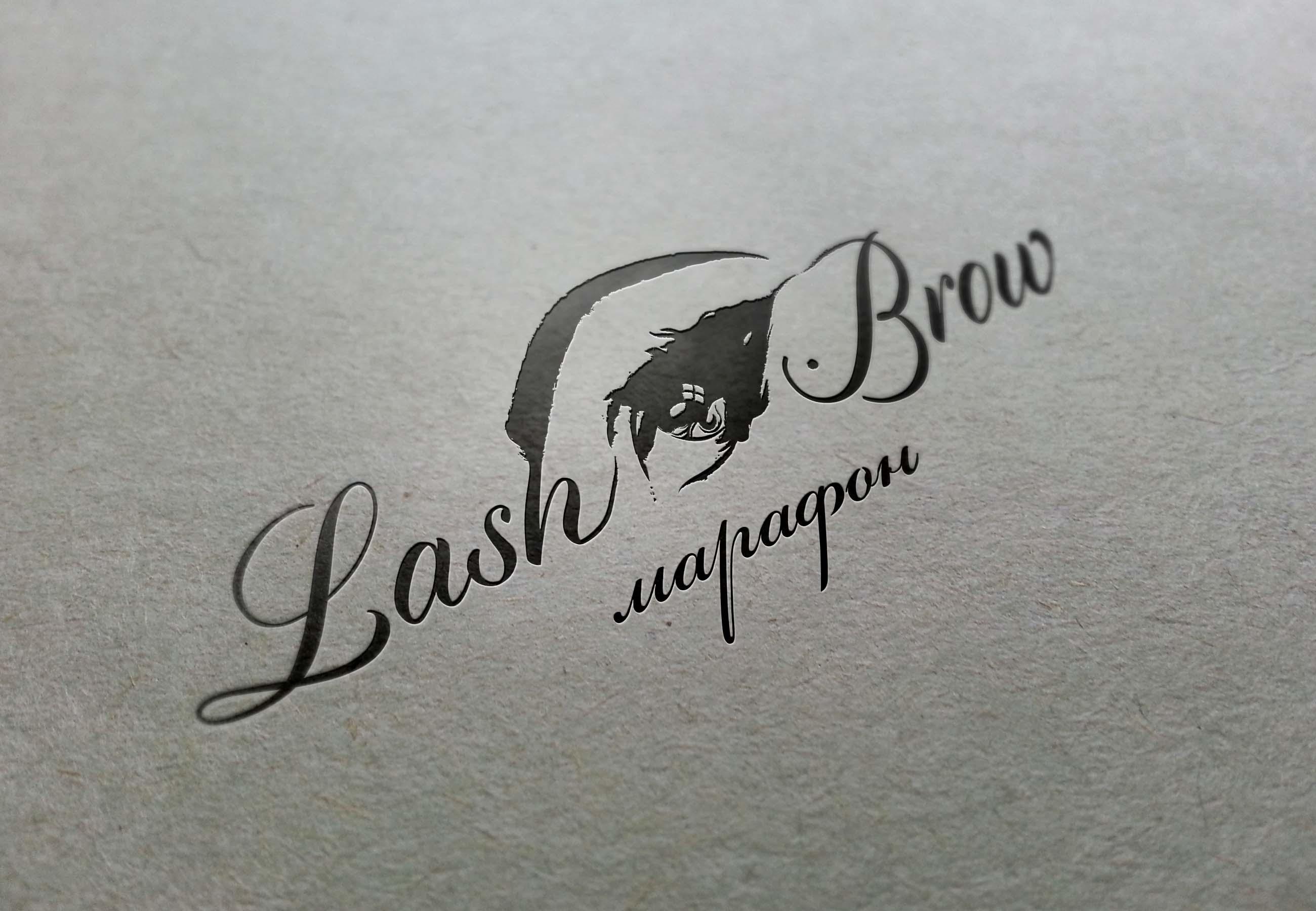 """Создание логотипа мероприятия """"Марафон Lash&Brow"""" фото f_05058f7654fafdbb.jpg"""