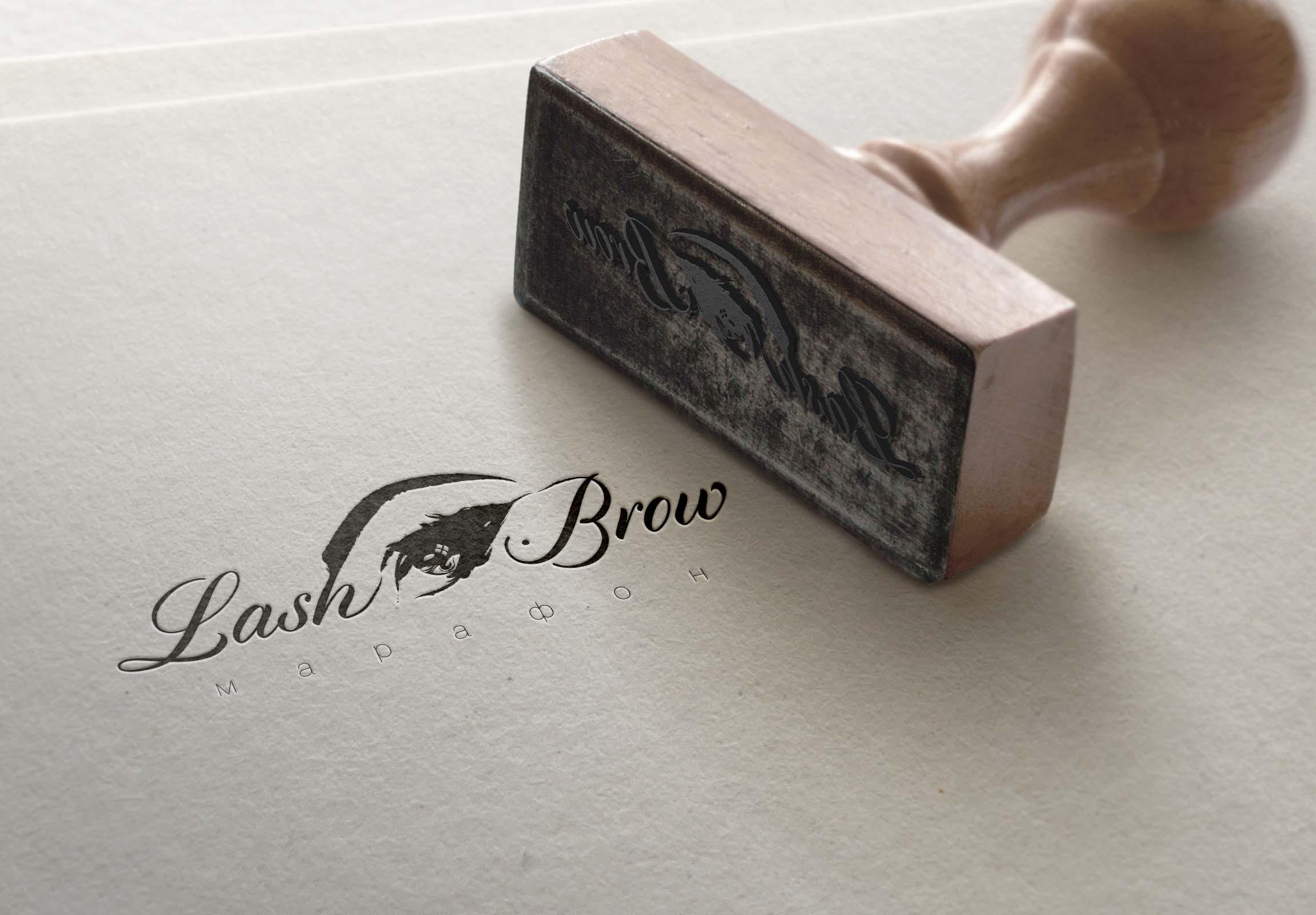 """Создание логотипа мероприятия """"Марафон Lash&Brow"""" фото f_39258f7653c6de48.jpg"""
