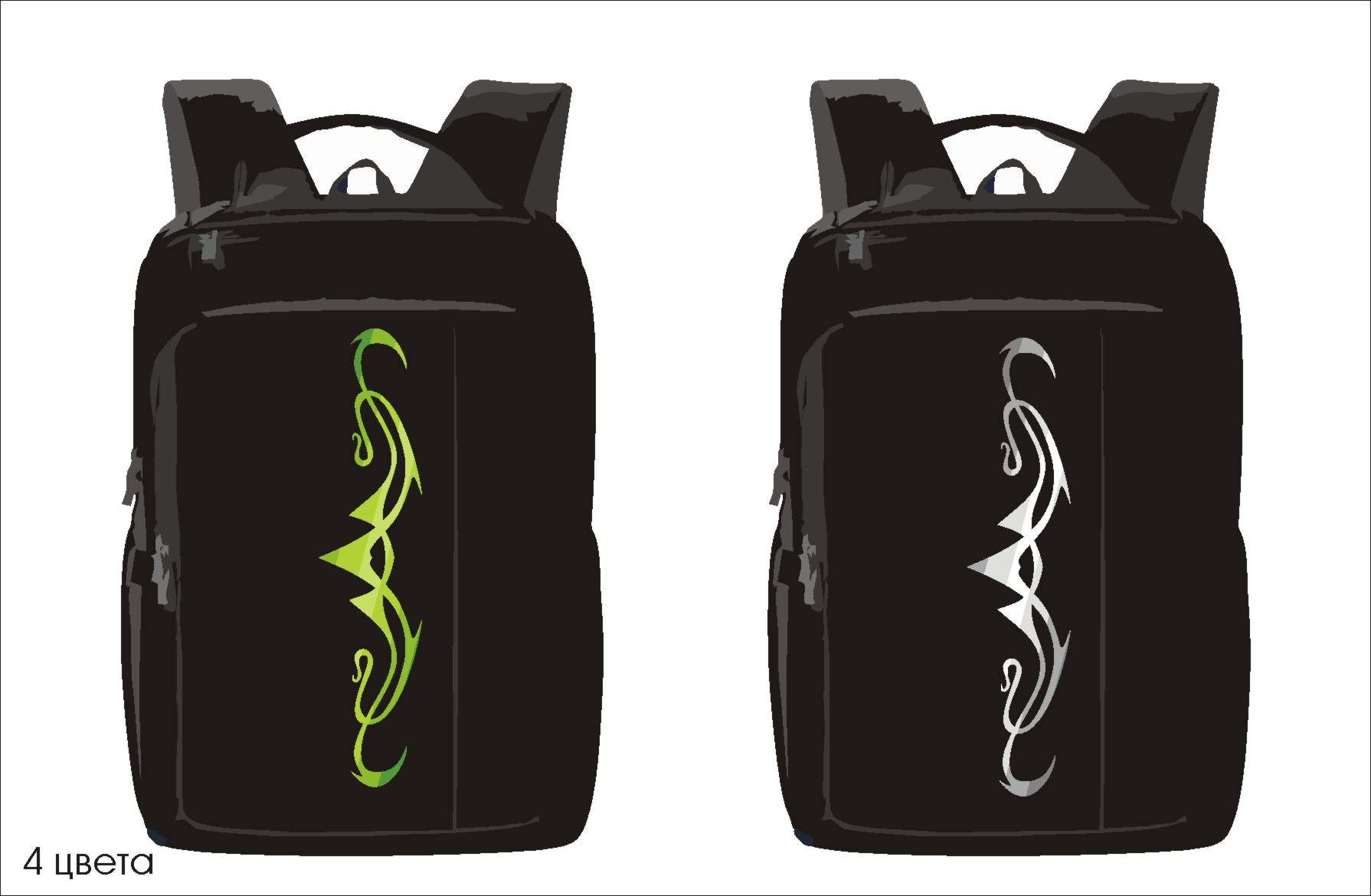 Конкурс на создание оригинального принта для рюкзаков фото f_5845f871984ba1c6.jpg
