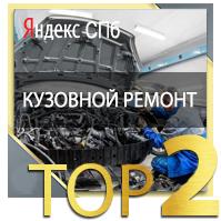 кузовной ремонт ТОП 2 Yandex СПБ
