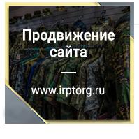 Продвижение сайта irptorg.ru