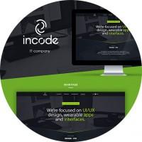 Корпоративный сайт InCode