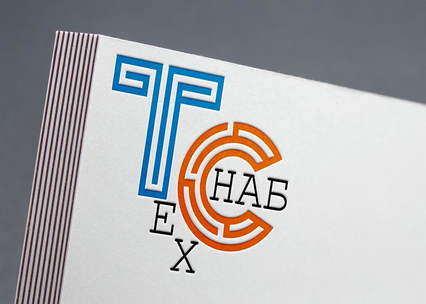 Разработка логотипа и фирм. стиля компании  ТЕХСНАБ фото f_5155b1fb0c7e00b0.png