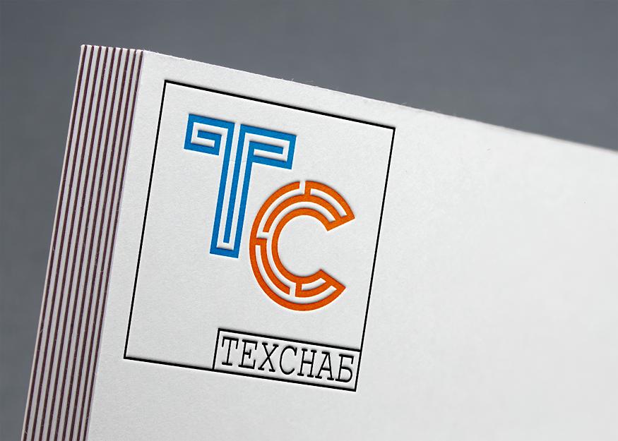 Разработка логотипа и фирм. стиля компании  ТЕХСНАБ фото f_9595b1fb0b0d70ef.png