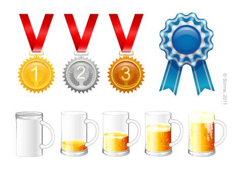 Медали/пиво