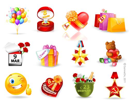 Виртуальные подарки для сайта знакомств
