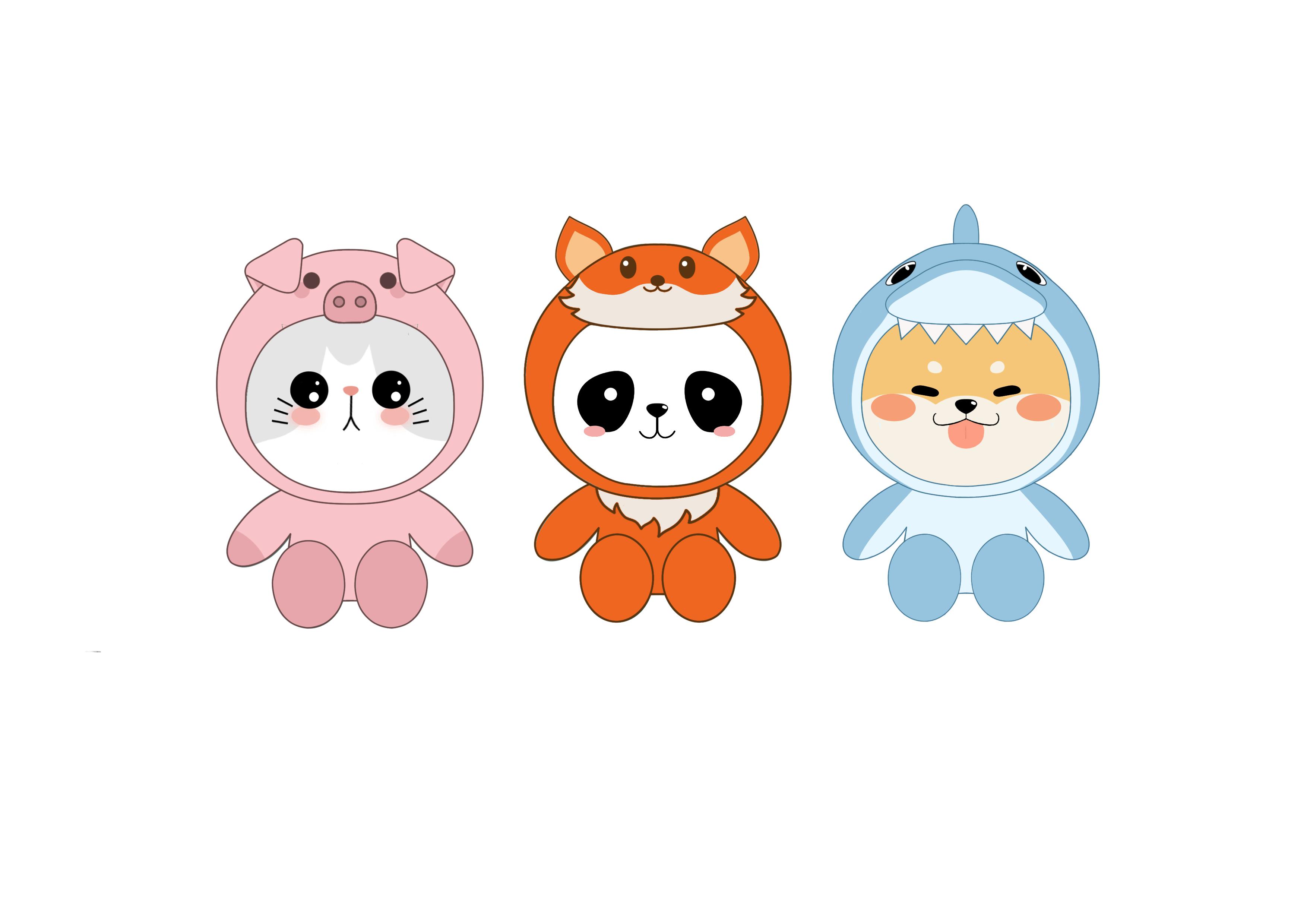 Дизайн 5 мягких игрушек фото f_9125cbbc02f05653.jpg
