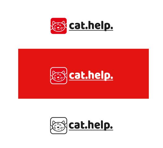 логотип для сайта и группы вк - cat.help фото f_11759e3bcbdafe12.jpg