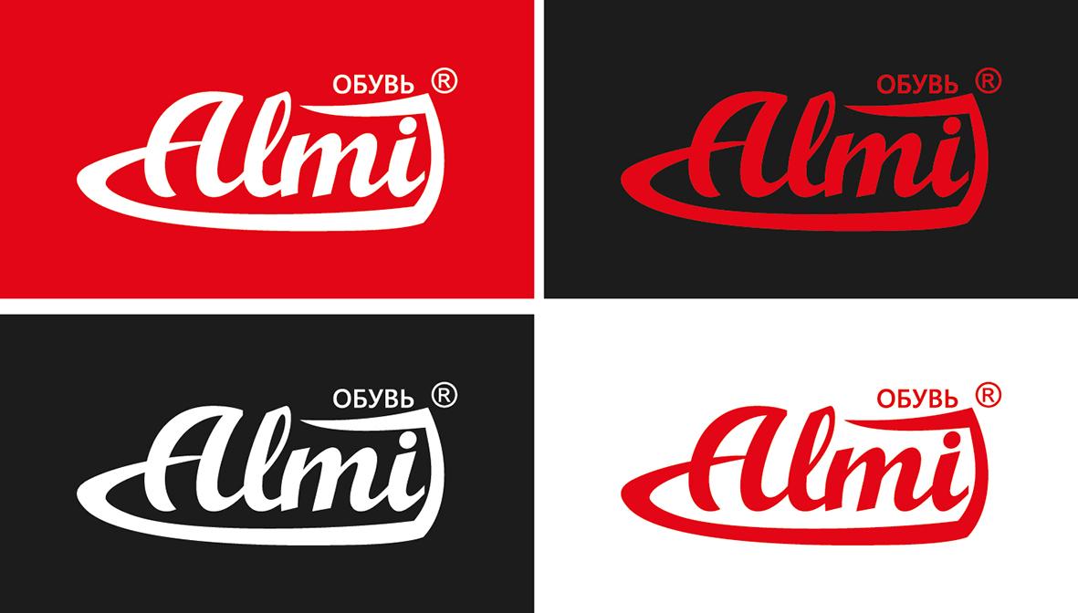 Дизайн логотипа обувной марки Алми фото f_80959ec798951556.jpg