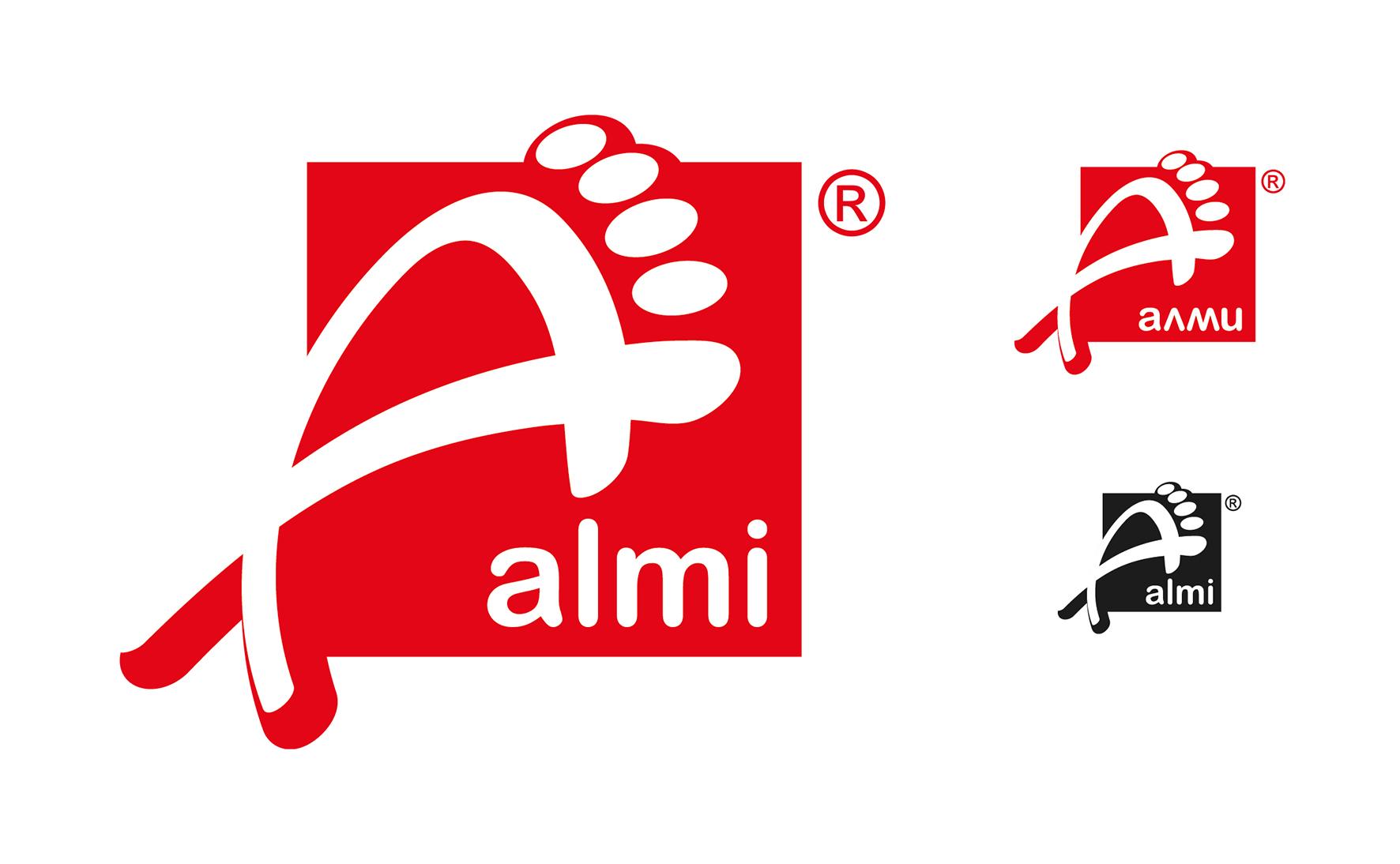 Дизайн логотипа обувной марки Алми фото f_91359f81d92a418e.jpg