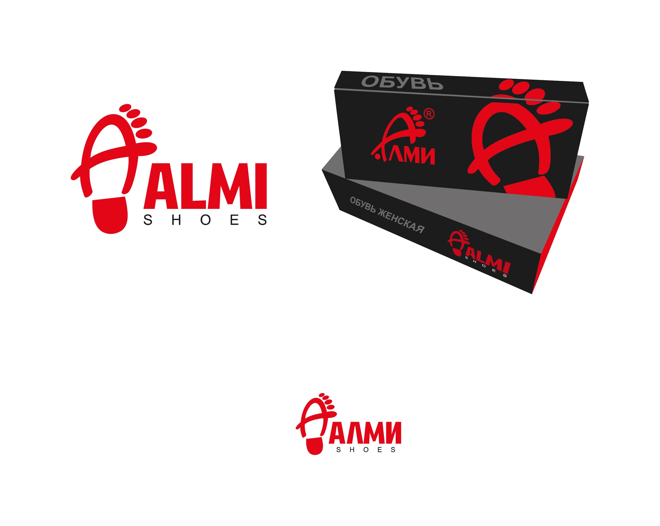 Дизайн логотипа обувной марки Алми фото f_99559f819f90f1e3.jpg