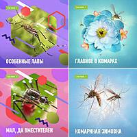 Инстаграм-баннеры - Рубрика про комаров