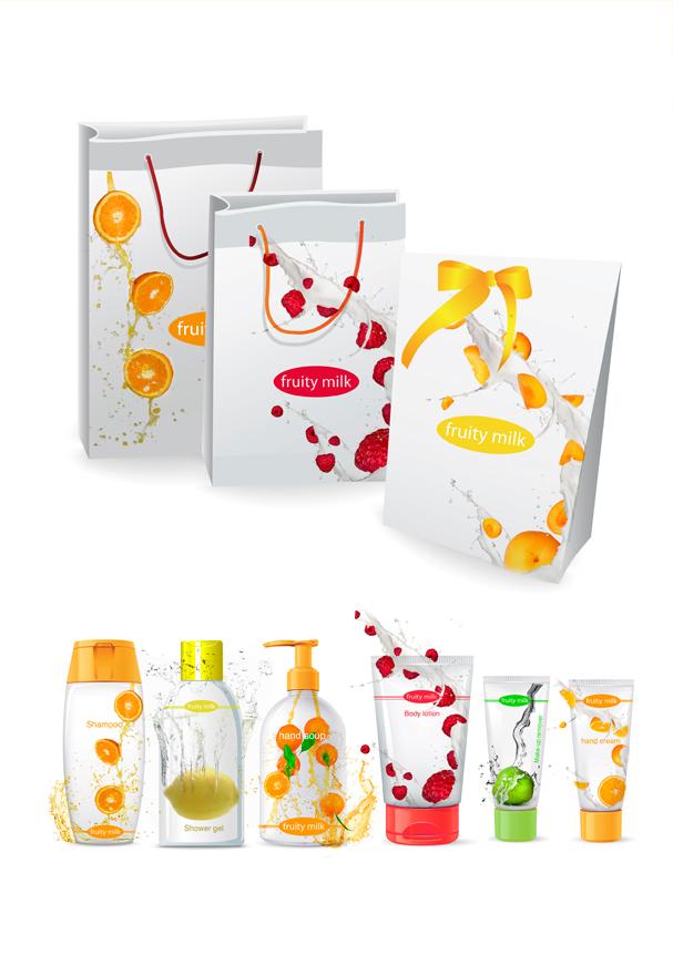 Fruity milk